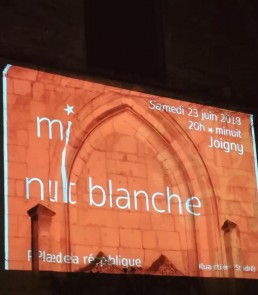Projection de films sur Saint André