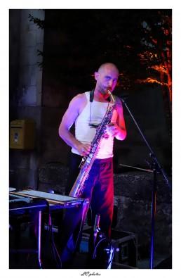 Yann Ecauvre au saxo, merveilleux